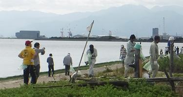 「高須海岸清掃」