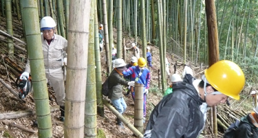 地域団体による環境保全活動への参加
